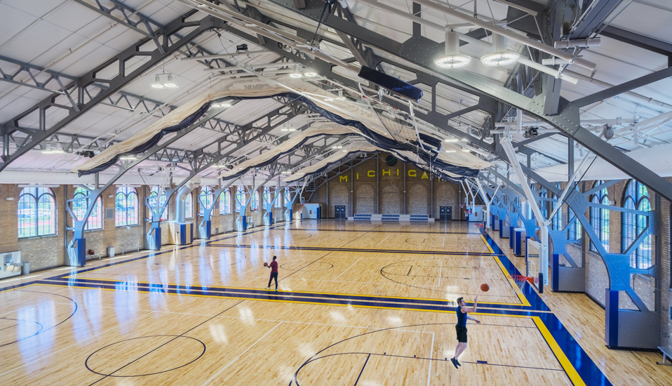 Intramural Sports Building (IMSB) Renovation