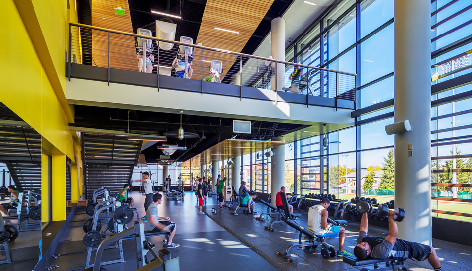 University of Oregon Student Recreation Center Expansion and Renovation