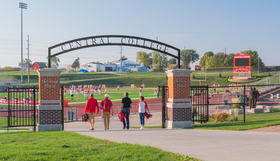 Central College - Football and Track & Field Stadium