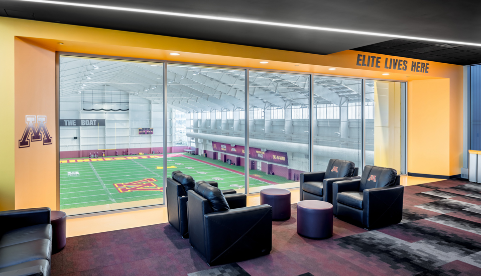 University of Minnesota Athletes Village Football Performance Center - Minneapolis, MN