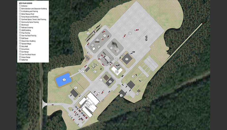 Dothan Regional Public Safety Training Center :: RDG Planning & Design