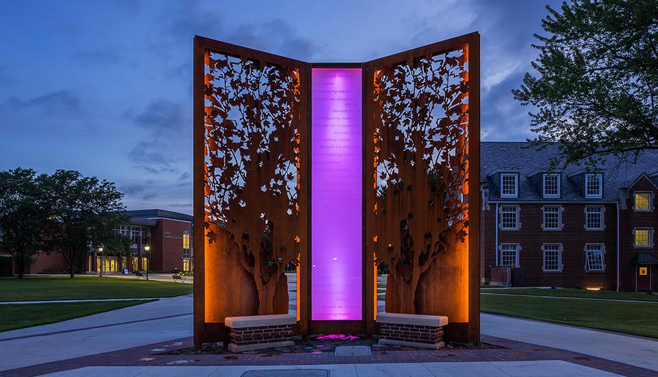 Simpson College Pedestrian Plaza :: RDG Planning & Design