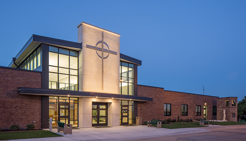 St. James Catholic Church-Kearney, Nebraska