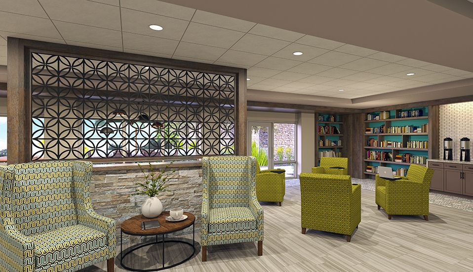 Senior Living Interiors Rdg Planning Design