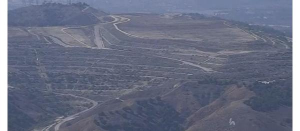 Landfill in Puente Hills, CA