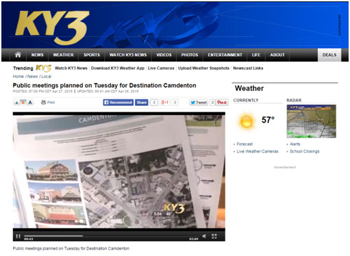 Great Coverage by KY3 News –