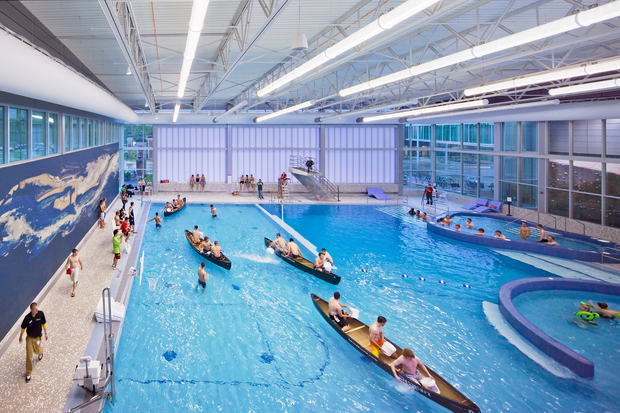 Trends in collegiate aquatics for University of york swimming pool