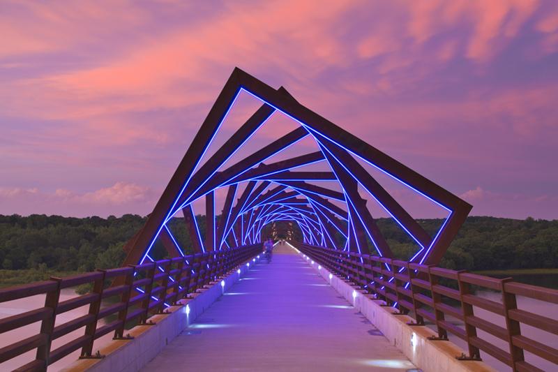 High Praise For The High Trestle Trail Bridge