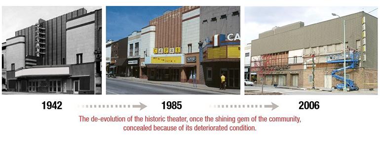 The Ottumwa Theatre Restoration Receives Design Award